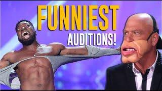 Top 10 FUNNIEST Auditions Of The Decade on @America's Got Talent  Will Make You LOL