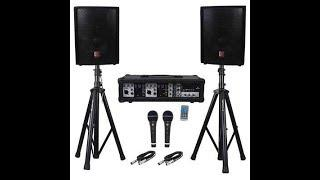 Top 10 Best Portable PA System in 2020 Reviews