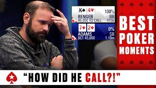 ''What a call'' - BEST POKER CALLS ♠️ Best Poker Moments ♠️ PokerStars Global