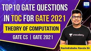 Top 10 Expected Questions in TOC for GATE 2021 | Theory of Computation | GATE CS | GATE 2021