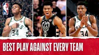 Giannis Antetokounmpo's Best Play Against EVERY NBA Team!