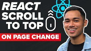 React Scroll to Top on Page Change with React Router