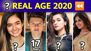 Shocking Age of Top 5 Youngest TikTok Actors and Actresses | Indian TikToker Age 2020