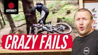 The Craziest Mountain Bike Fails Of The Month | GMBN's February Fails & Bails Reel