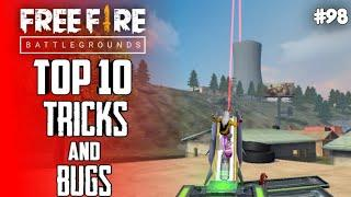 Top 10 New Tricks In Free Fire | New Bug/Glitches In Garena Free Fire #98