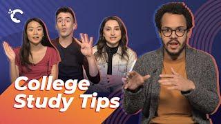 Harvard and UCLA Students' College Study Tips