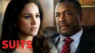 Rachel Confronts Her Complicated Relationship With Her Dad | Suits