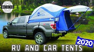 Top 8 Car Tents and Motorhome Driveaway Awnings for Convenient Camping in 2020