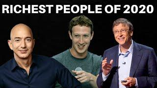 Richest People in the world 2020 | Top 25 Richest Person in the World - GAME OF DATA