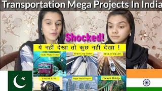 Top 10 Mega Transportation Projects In India by 2050 |Shocked| Pakistani Reaction