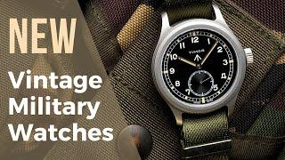 Vintage Military Watches Reborn – Reissues of Divers, Field Watches & Pilot Watches