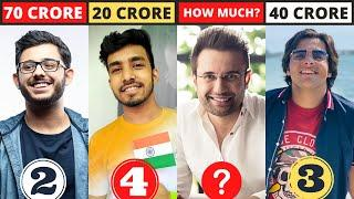 New List of Top 10 Richest Youtubers Of India - Techno Gamerz, Ujjwal, CarryMinati, Round2hell