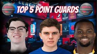 TOP 5 POINT GUARDS in the NBA 2K League