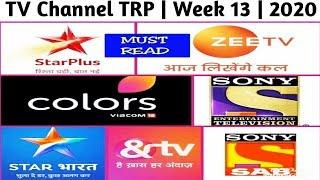 Top 10 TV Channel TRP ( Urban ) | Week 13 | 2020