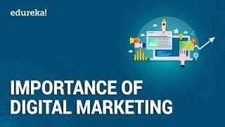 Top 10 Reasons to Learn Digital Marketing | Digital Marketing Training | Edureka