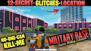 How CONQUEROR Players Plays in MILITARY BASE 13 Secret Glitches and Location Tips Tricks PUBG MOBILE