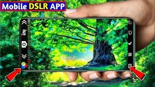 Best DSLR Camera Apps Auto Focus & Auto Blur | DSLR camera apps for android | high HD+ quality ✅