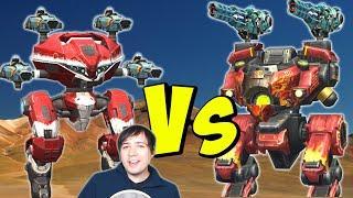 Corrosion VIPER BULWARK Vs LEECH Robots - War Robots Mk2 Gameplay