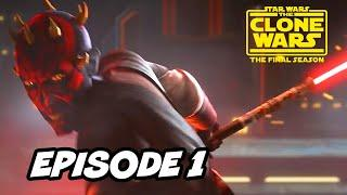 Star Wars The Clone Wars Season 7 Episode 1 - TOP 10 WTF and Star Wars Easter Eggs