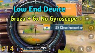 2 Finger Non Gyro Low End Device Pubg Mobile Solo vs Squad Erangel Gameplay #14