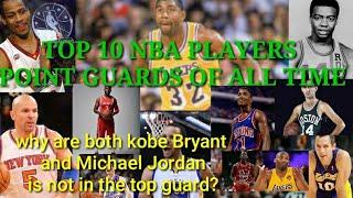 TOP 10 NBA PLAYERS POINT GUARDS OF ALL TIME