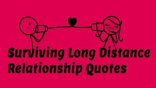 Top 10 Surviving Long Distance Relationship Quotes - Messages Make you Cry