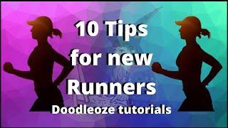 Tips For Beginner Runners - 10 Tips For Beginner Runners - Doodleoze Tutorials