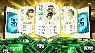 FIFA 20 Icon Moments Pack Opening!