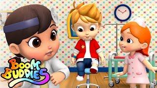 Doctor Doctor Song   Nursery Rhymes and baby Songs   Kids Tv   Boom Buddies