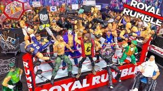 HARDCORE ROYAL RUMBLE WWE ACTION FIGURE MATCH! HARDCORE CHAMPIONSHIP!