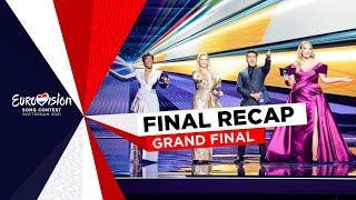 Recap of all songs - Grand Final - Eurovision 2021