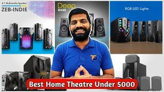 Top 5 Home Theater Under 5000 || Best Home Theater System 2021 || Home Theater || RJ Talk's