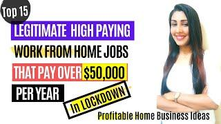 Top 10 High Paying Online Jobs Work From Home in Lockdown Ways to Earn Money in 2020 Dr. MenkaYuvraj