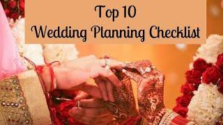 Wedding Planning Checklist | 10 Tips | How to plan your wedding