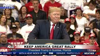 KEEP AMERICA GREAT: President Trump FULL RALLY in Florida
