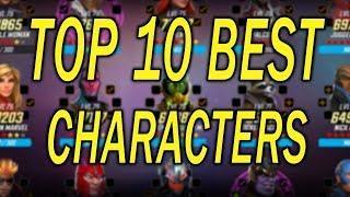Top 10 Best Characters Jan 2020 - MARVEL Strike Force - MSF