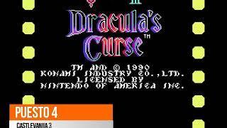 TOP 10 : Los mejores juegos de Family Game/NES