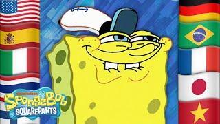 5 Iconic SpongeBob Scenes IN 34 DIFFERENT LANGUAGES!