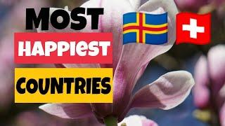 Top 10 World's Happiest Countries In the World in 2020.