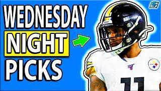 DRAFTKINGS NFL PICKS WEDNESDAY NIGHT WEEK 13 SHOWDOWN  DFS PICKS