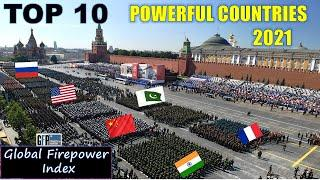 Top 10 Powerful Country 2021 | Global Firepower Index 2021