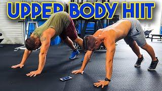 10 Minute⚡HIIT⚡Body Weight Workout | Upper Body Fitness