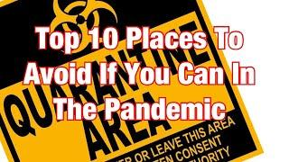 TOP 10 Places That Are A Risk To Stay Away From If You Can