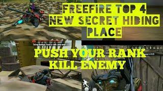 Freefire top 5 new secret and hiding place   Freefire me chupne ki jagah   