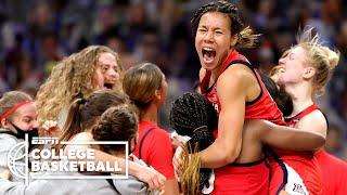 Arizona upsets UConn in the 2021 Women's Final Four [HIGHLIGHTS]   ESPN College Basketball