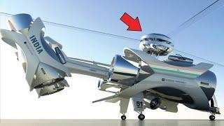 होश उड़ा देने वाले 10 खतरनाक AIRCRAFT | Top Most Advance Machines Technology Inventions