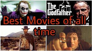 Top 10 Best Movies of all time ( According to IMDB)