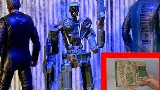 1000toys Robox Toy Review 1:12 Scale Mech Robot Action Figure by Kim Jung Gi