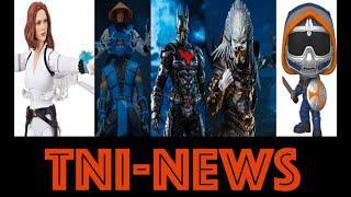 TNINews: Black Widow Movie Marvel Legends Figure, NECA Alpha Predator, Hot Toys Batman Beyond & More