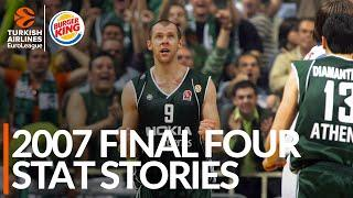 2007 Final Four Stat Stories